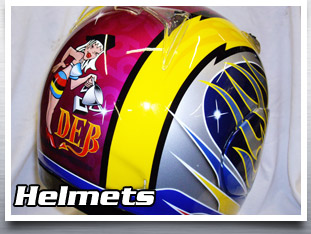 Click here to enter Helmets section